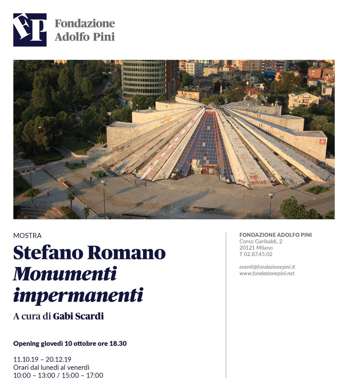Stefano Romano MONUMENTI
