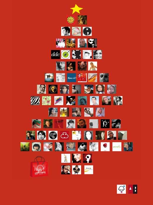 News: L'albero del Natale Creativo...  Creathead