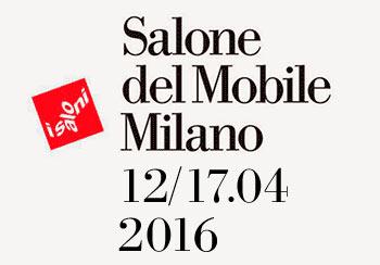 News salone del mobile milano 2016 il mondo di qualit for Fiera del mobile 2016 milano