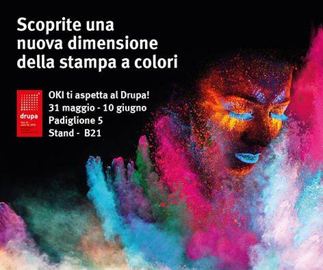 OKI Europe a Drupa 2016: